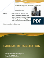 Cardiac Rehabilitation Intro of Pmr in Cv Diseases -Edit
