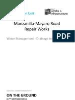Manzanilla-Mayaro Road Repair Works