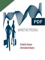Taller Marketing Personal FEUN 2012- 2013