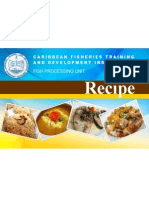 Fish Recipe Cards  7.11.2013