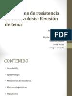 Mecanismo de Resistencia en Tuberculosis