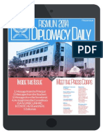 RISMUN Pre-conference Issue