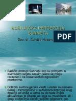 Bosnjacka percepcija Sunneta.ppt