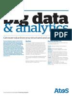 Atos Big Data Analytics Uk Factsheet