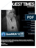 The Quest Times Issue III