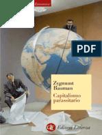 Zygmunt Bauman - Capitalismo Parassitario (2012)