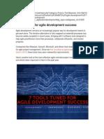 Seven Agile Tools