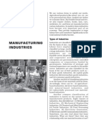 India Manufacturing Industries