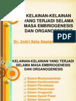 Embriologi khusus