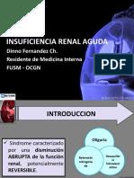 Insuficiencia Renal Aguda Dinno Fernandez Ch.