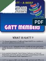 Group 1 - GATT -A Brief Introduction