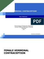 2011 Hormonal Contraception