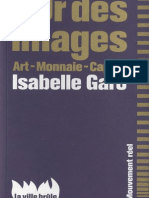 "Isabelle Garo, Introduction à ""L'or des images - art, monnaie, capitalisme"""