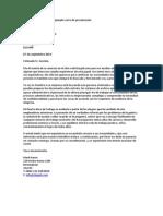 Asistente Administrativo Ejemplo Carta de Presentación
