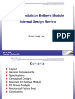 Design Review Bellows