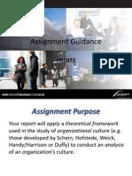 Assignment Guidance
