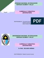 Evaluación (Currículo y Didáctica Universitaria)
