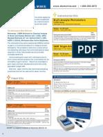 Detergents (Anionic Surfactants, MBAS)