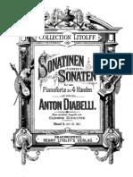 ADiabelli Sonata Op.38 Schultze Ed