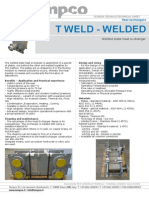 T WELD - WELDED
