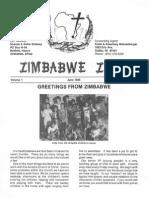 Delaney Shanda Robin 1985 Zimbabwe