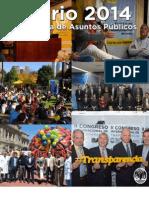Anuario 2014 Subsecretaría de Asuntos Públicos