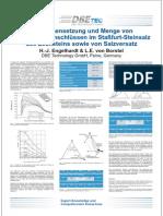Zusammensetzung und Menge von Flüssigkeitseinschlüssen im Staßfurt-Steinsalz des Zechsteins sowie von Salzversatz