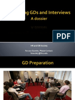 HRsoc_Mastering GDs and Interviews