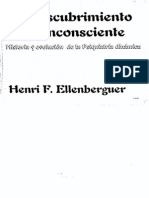 El Descubrimiento Del Inconsiente. Henri Ellenberguer.