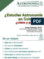 Estudiar Astronomia Colombia