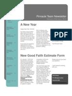Pinnacle Team January/February 2010 Newsletter