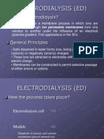 Electro Dialysis