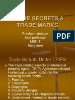 Trade secrets and trade marks