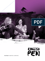 English PEN Annual Report 2012-13