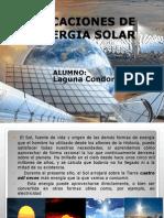 Aplicaciones de La Energia Solar