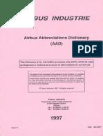 Airbus Abbreviations Dictionary