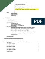 Calculo Impuesto a Las Ganancias. Año 20141