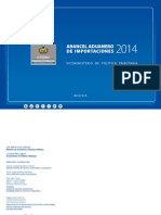 Arancel 2014 Total