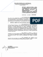 Oficio N° 1300 - 2014 CGR