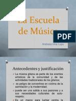 Escolas de Musica- projecto