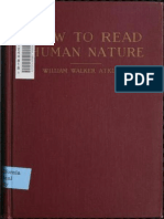 How to Read Human Nature _ Its Inner Sta - William Walker Atkinson