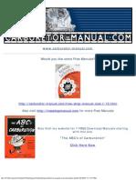 Carter Carburetor Service Tools