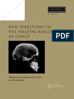 Introduction - New Directions in the Skeletal Biology of Greece