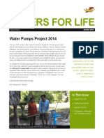 pump well project newsletter