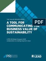 Value Driver Model_Report