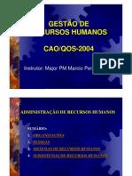 Aula de Gestão de Pessoas CAO-QOS-2004