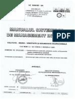 Manualul Sistemului de Management Integrat