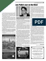Article on talk by journalist Masha Gessen