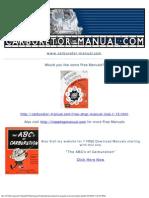 Stromberg Carburetor Gaskets Parts Manual