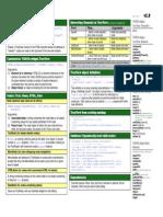 web based Tree View help sheet